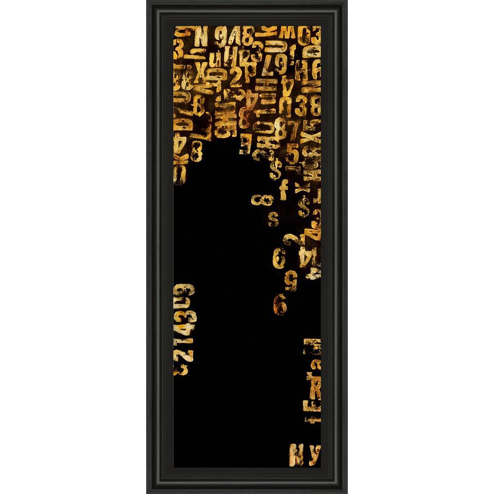 "Classy Art 18 in. x 42 in. ""Stock II"" by Erin Ashley Framed Printed Wall Art"