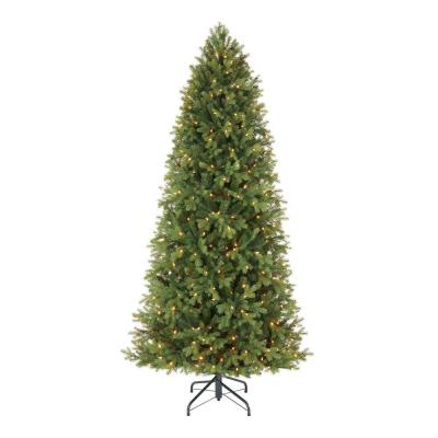 7.5 ft Lachlan Balsam Fir Slim LED Pre-Lit Artificial Christmas Tree with 460 Color Changing Lights with 7 Functions