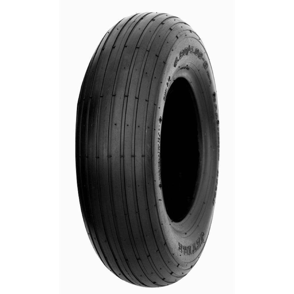 Zuo Modern Rib 30 PSI 4.8 in. x 4-8 in. 4-Ply Tire and Wheel
