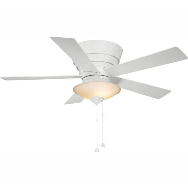 Andross 48 in. Indoor White Ceiling Fan with Light Kit