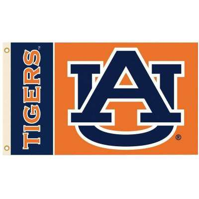 NCAA Auburn Tigers 2-Sided 3 ft. x 5 ft. Flag with Grommets