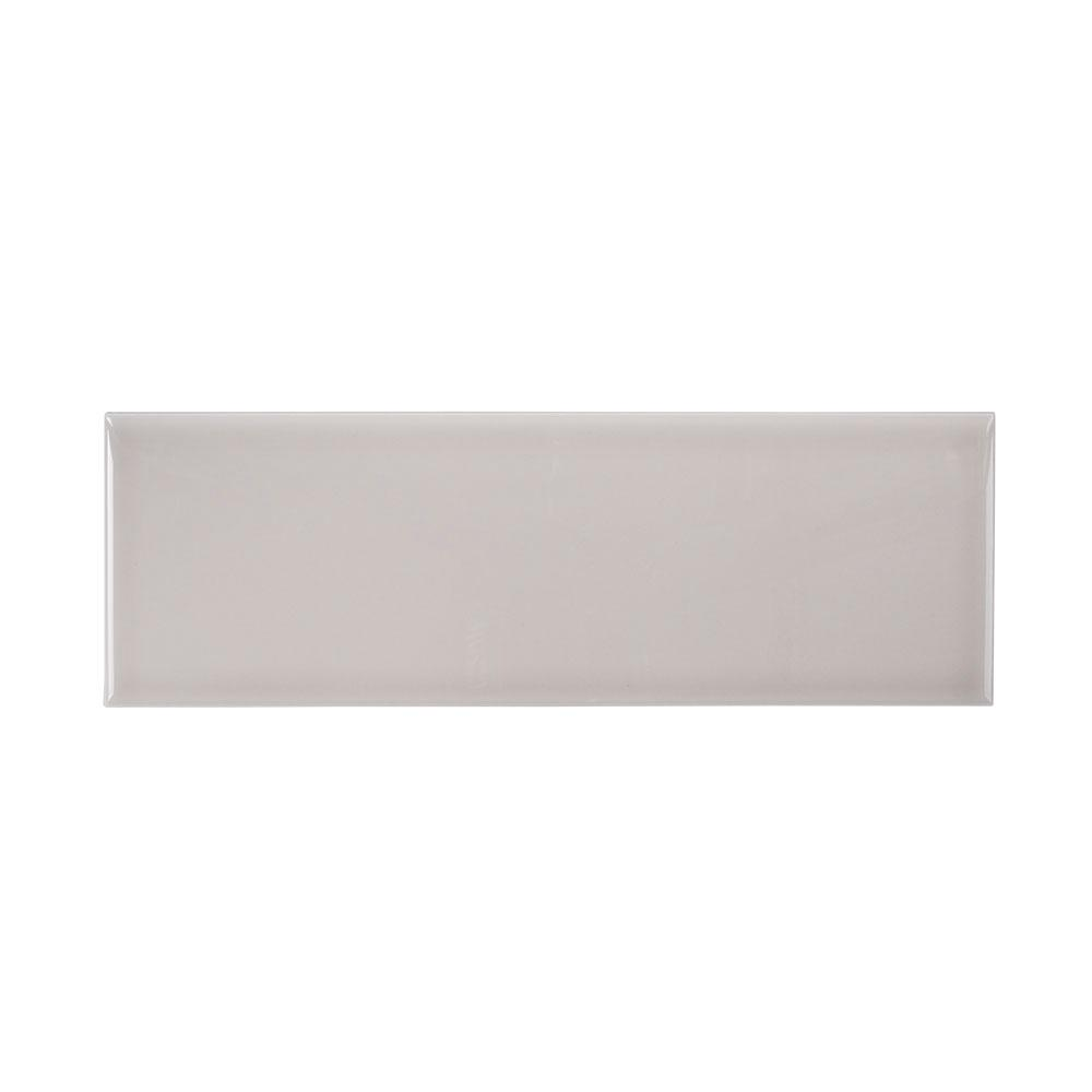 Weather Grey 4 in. x 12 in. Ceramic Wall Tile