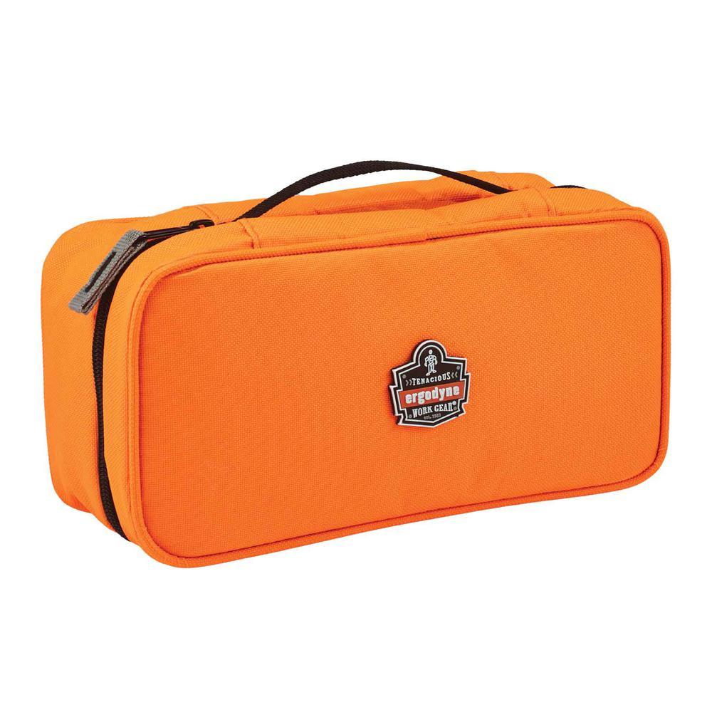 Arsenal  2-Compartment Midsize Small Parts Organizer, Orange