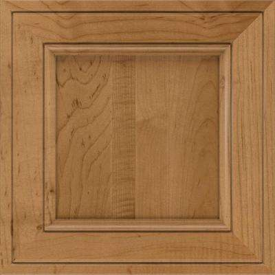 14.5x14.5 in. Blakely Cabinet Door Sample in Palomino