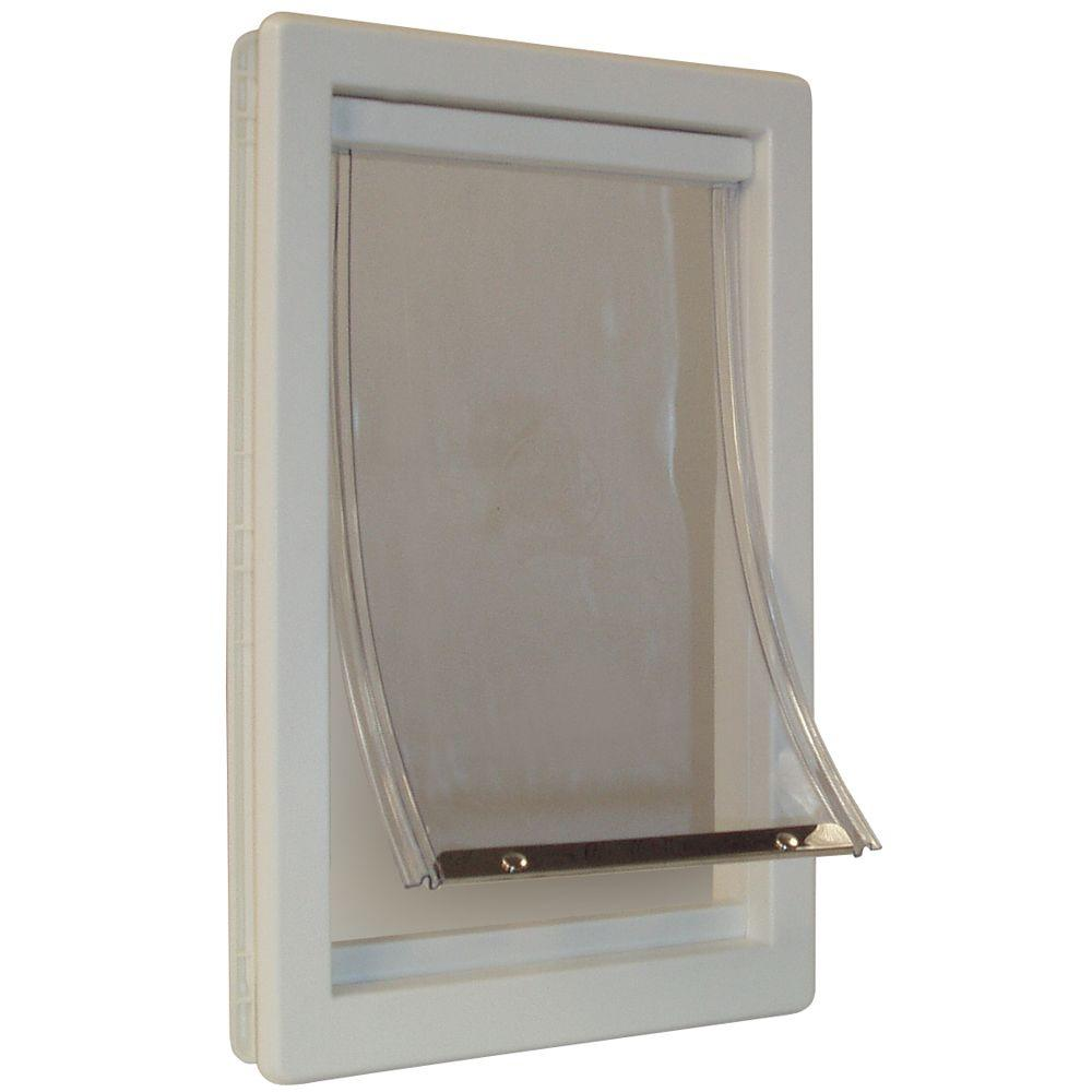 Ideal pet 7 in x 1125 in medium original frame pet door ppdm medium original frame pet door jeuxipadfo Images