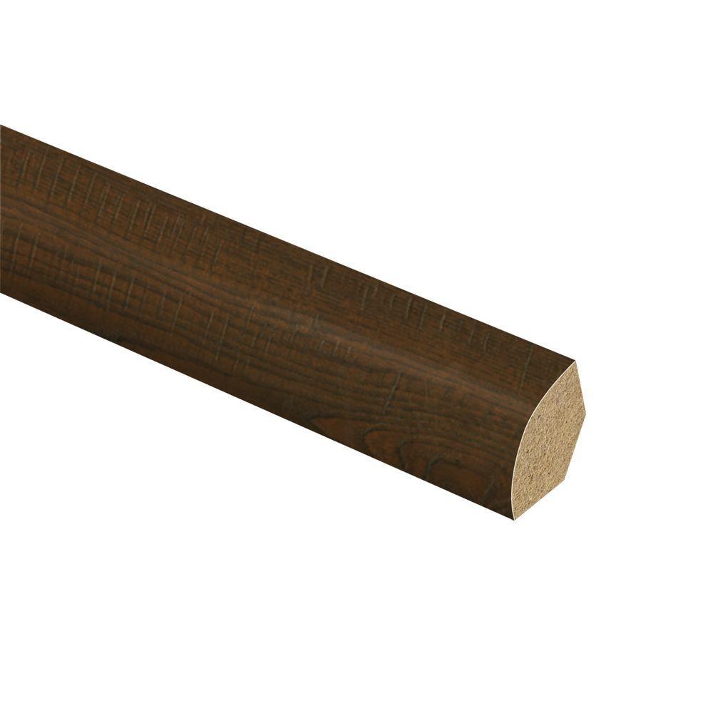 Auburn Scraped Oak 5/8 in. Thick x 3/4 in. Wide x 94 in. Length Laminate Quarter Round Molding