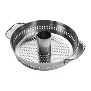 Click here to buy Weber Original Gourmet BBQ System Poultry Roaster Insert by Weber.