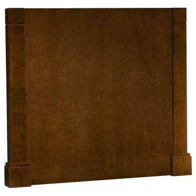 3x34.5x37.5 in. Decorative Island End Panel in Cognac