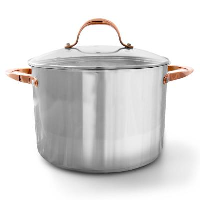 Merrick 16 Qt. Stainless Steel Stock Pot with Lid