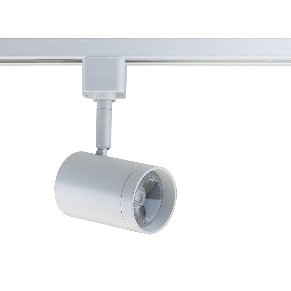 filament design white integrated led track lighting head hd th471 the home depot. Black Bedroom Furniture Sets. Home Design Ideas