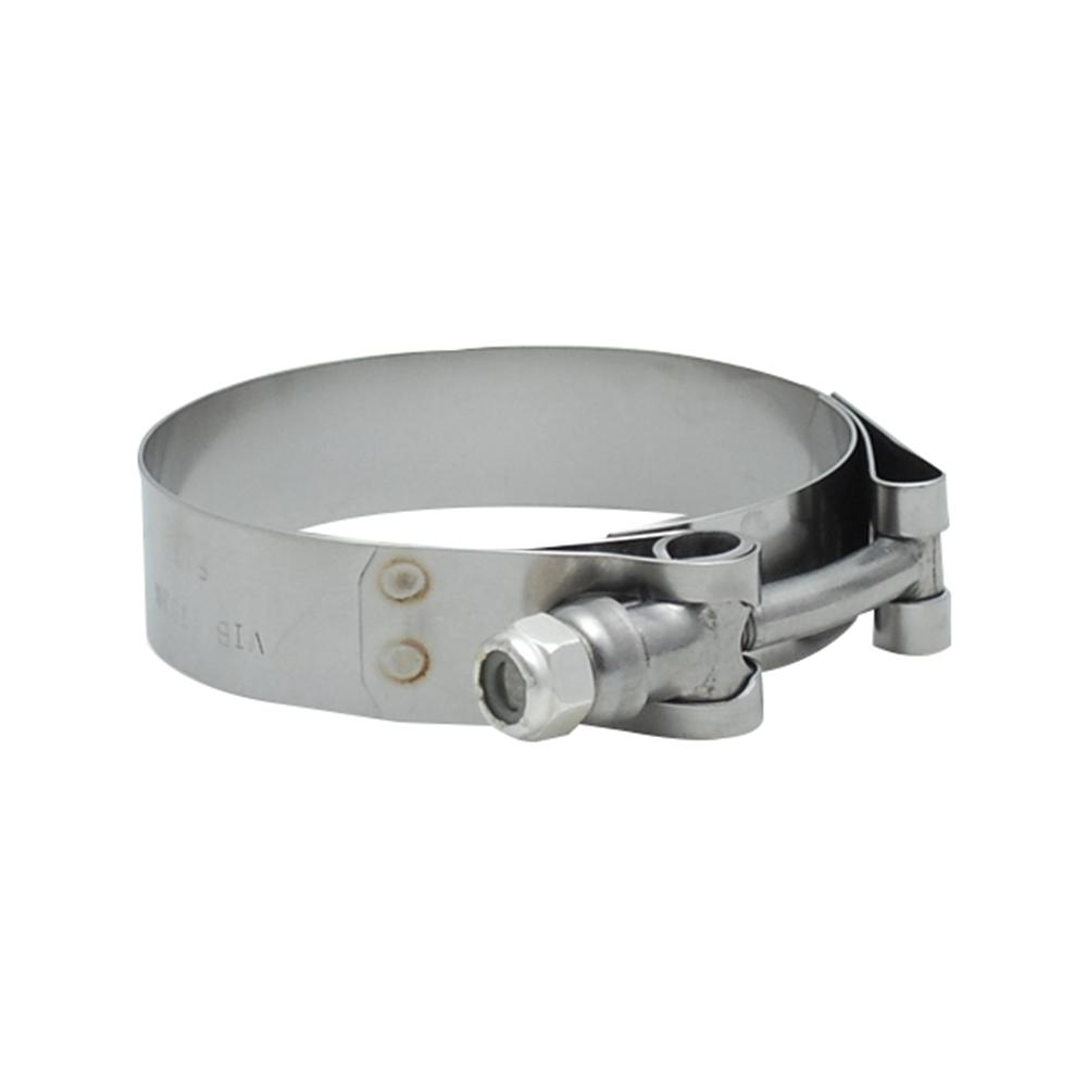 Vibrant Performance SS T-Bolt Clamps Pack of 2 Size Range: 1 49in to 1 84in  O D  For use w/ 1 25in I D  coupling