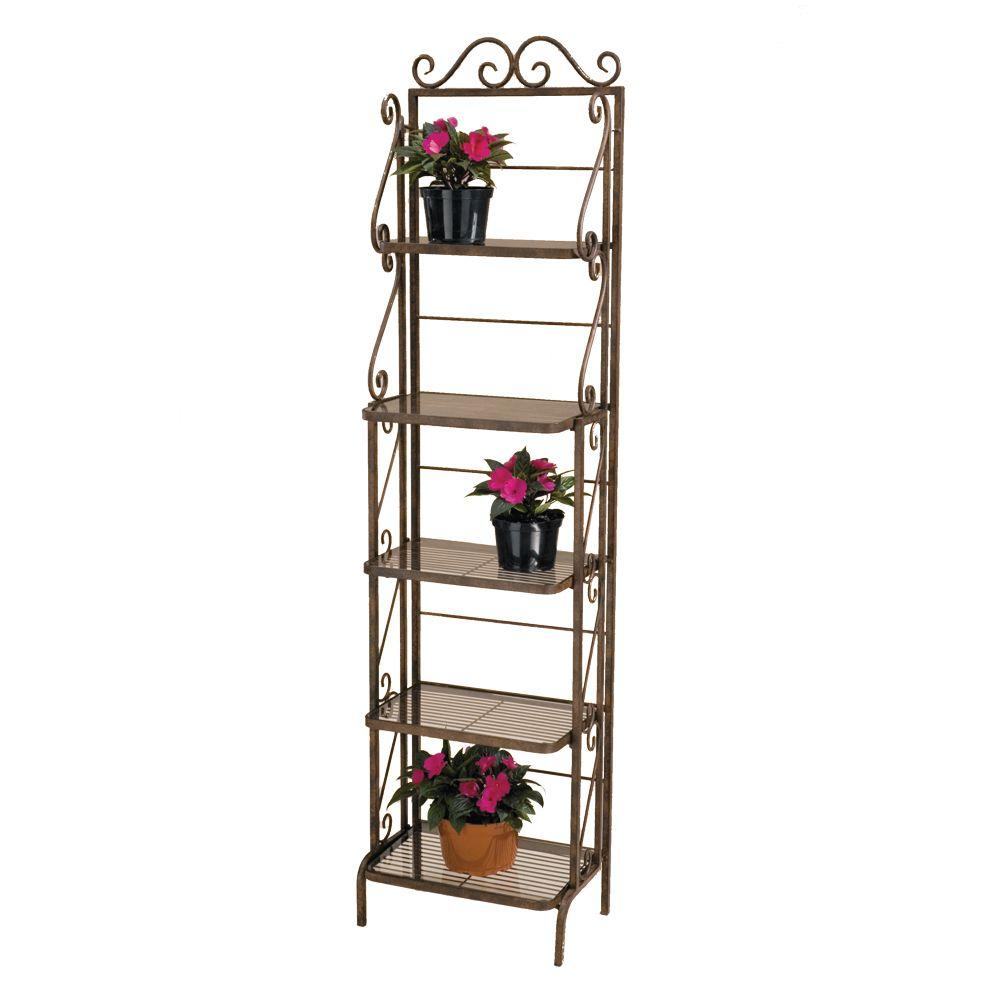 home depot outdoor plants Plant Stand Rack BR107   The Home Depot home depot outdoor plants