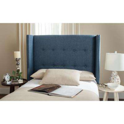 Damon Denim Blue Twin Headboard