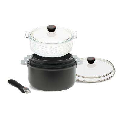 Cookway 8-Piece Sauce Pot Set with Lids