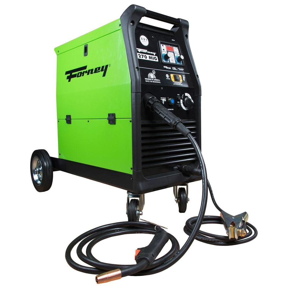 Lincoln Electric 125 Amp Weld Pak Hd Flux Cored Welder With Hobart 250 Mig Wiring Diagram 270 230 Volt