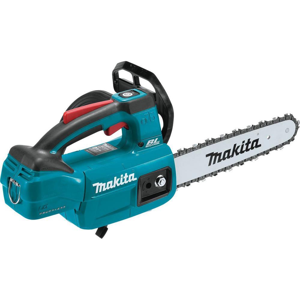 Makita 10 in. 18-Volt LXT Lithium-Ion Brushless Cordless Top Handle Chain Saw (Tool-Only)
