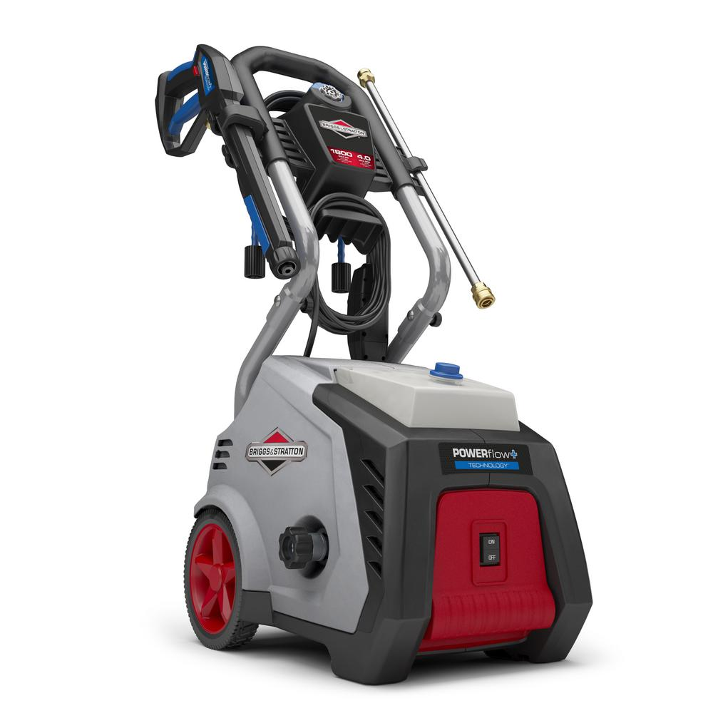 Briggs Stratton 1800 Psi 40 Gpm Electric Pressure Washer With Earthwise Wiring Diagrams Powerflow Technology