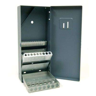 4 in. x 8-5/16 in. Fractional Drill Bit Index Tool Case