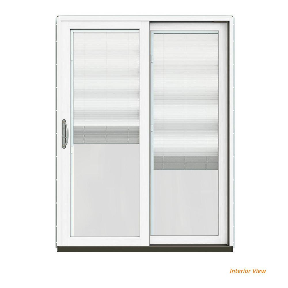 60 X 80 Silver Sliding Patio Door Patio Doors Exterior Doors