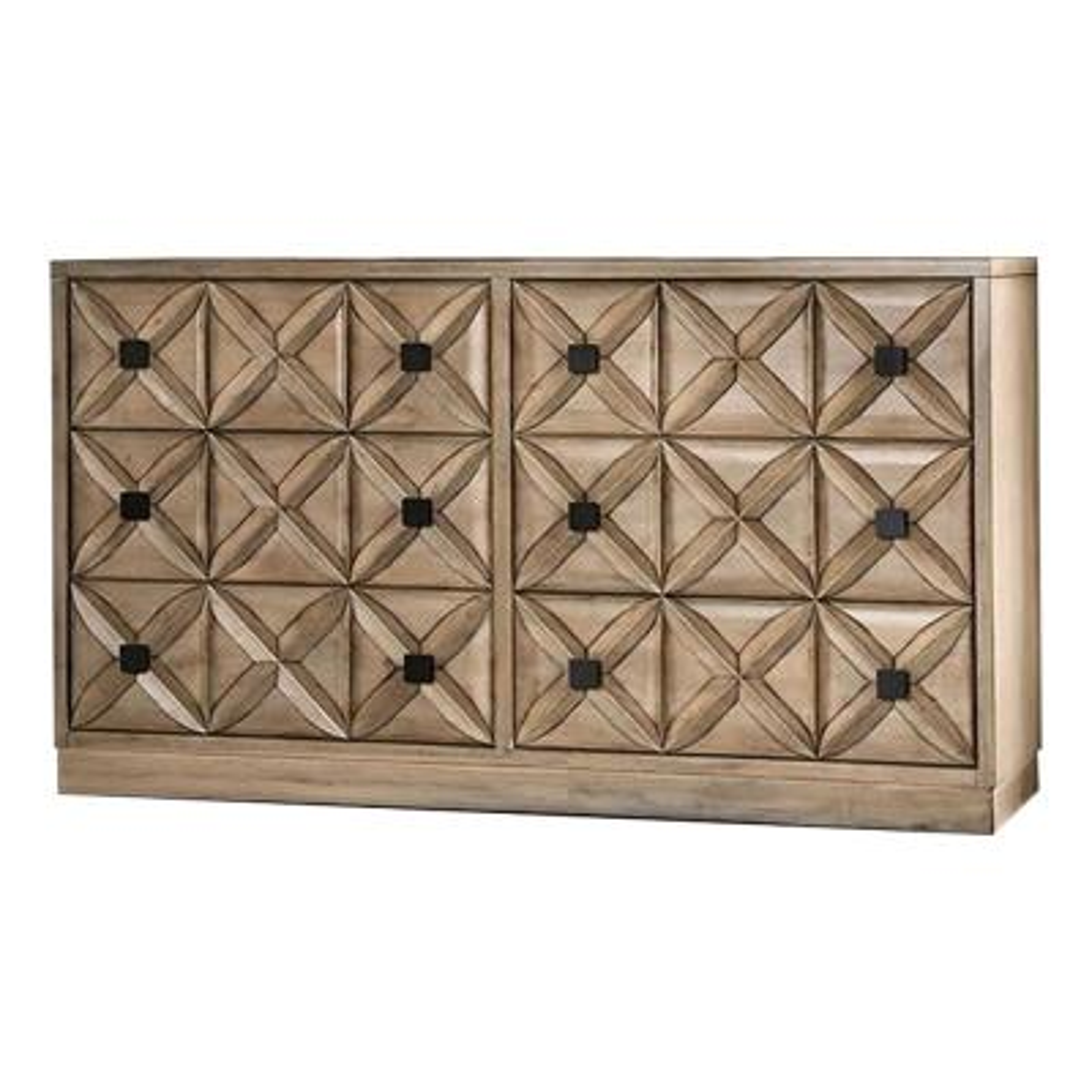 Markos Weathered Light Oak Dresser