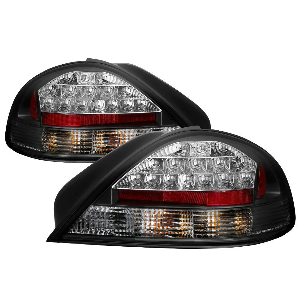 Pontiac Grand Am 99 05 Led Tail Lights Black