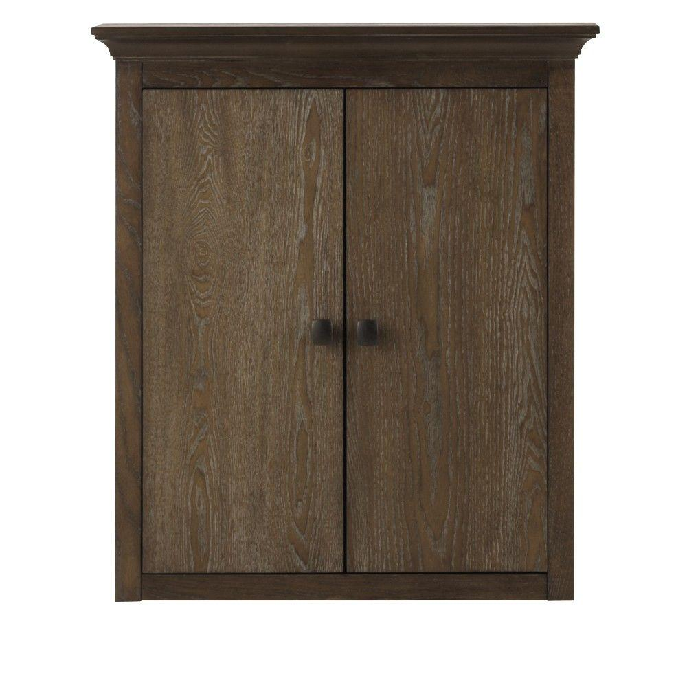 Home Decorators Collection Brisbane 24 In W X 27 In H X 7 3 4 In D Bathroom Storage Wall