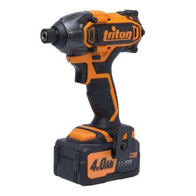 20-Volt Lithium-Ion 1/4 in. Cordless Compact Impact Driver