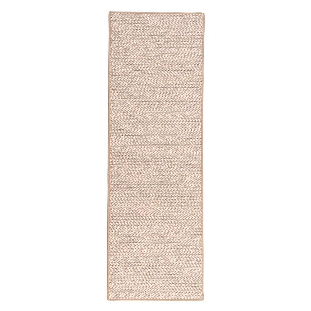 Sadie Sand 2 ft. x 10 ft. Indoor/Outdoor Braided Runner Rug