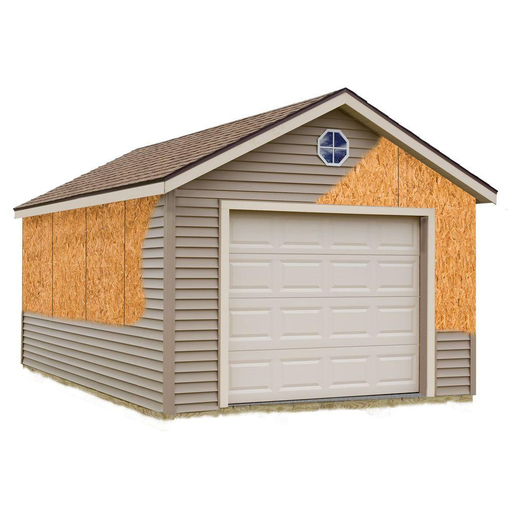 Home Depot Garages : Best barns greenbriar ft prepped for vinyl