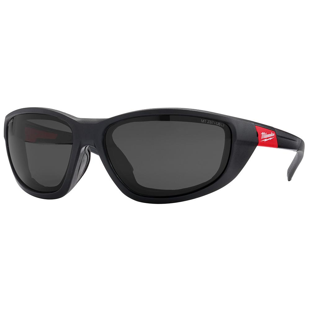 Milwaukee Milwaukee High Performance Polarized Safety Glasses with Tinted Lenses and Gasket