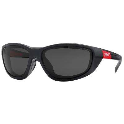High Performance Safety Glasses with Tinted Lenses and Gasket