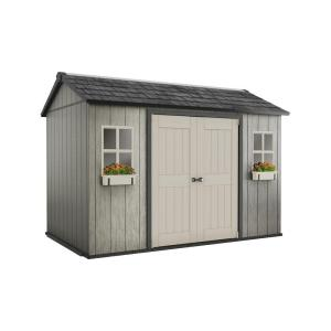 Keter My Shed 11 ft. x 7.5 ft. Fully Customizable Storage Shed by Keter