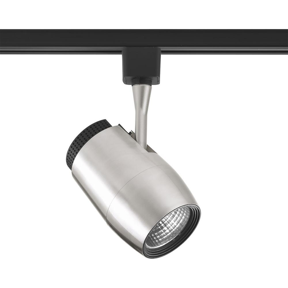 Progress Lighting Led Track Collection Brushed Nickel Integrated Head