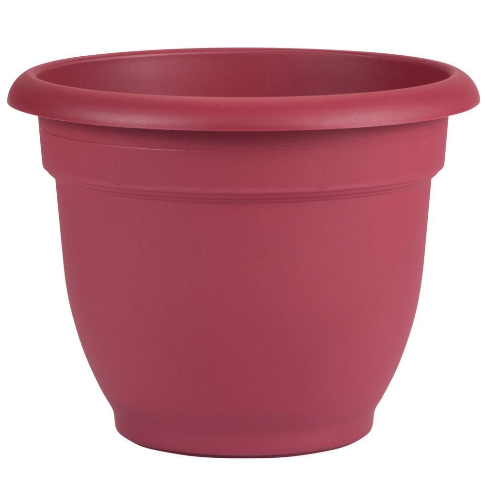 16 X 13 75 Union Red Ariana Plastic Self Watering Planter