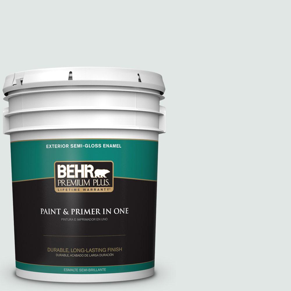 5 gal. #PPU13-17 Fresh Day Semi-Gloss Enamel Exterior Paint