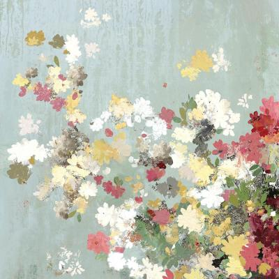 "54 in. x 54 in. ""Abstract Bouquet I"" by Allison Pearce Wall Art"