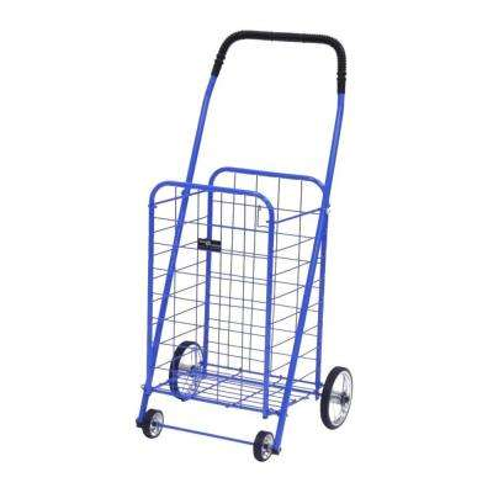Mini Shopping Cart in Blue