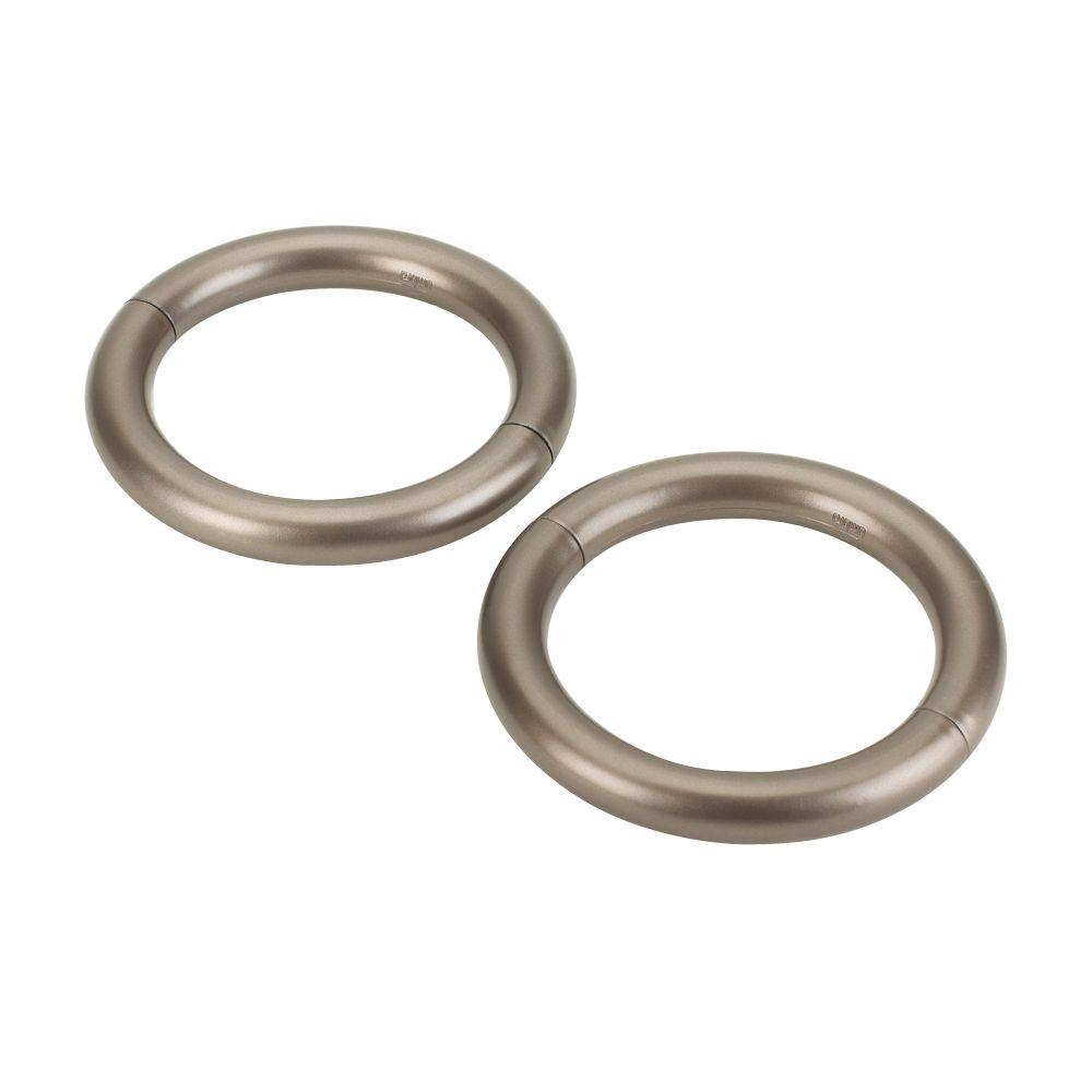 Umbra 45 In Halo Magnetic Holdback Pewter 2 Pack