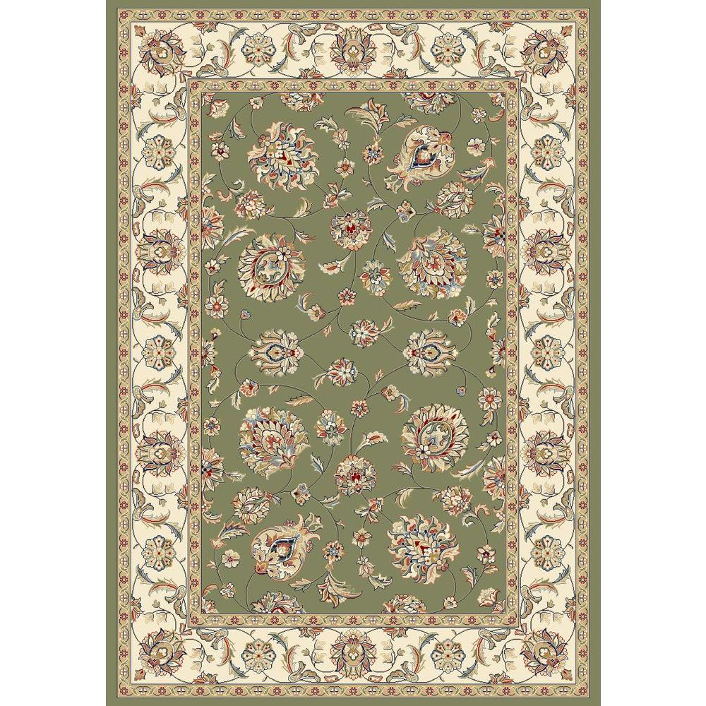 Judith Green/Ivory 7 ft. 10 in. x 11 ft. 2 in.