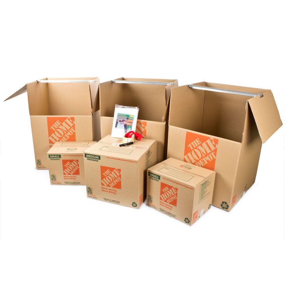 6 Box Closet Moving Kit