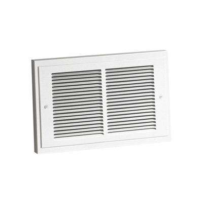 14-19/64 in. x 9-19/64 in. 1,000-Watt Wall Heater in White