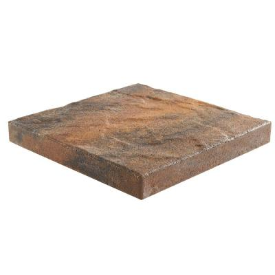Taverna 16 in. L x 16 in. W x 50 mm H Square Winter Blend Concrete Step Stone ( 72-Piece/124 Sq. ft./Pallet )