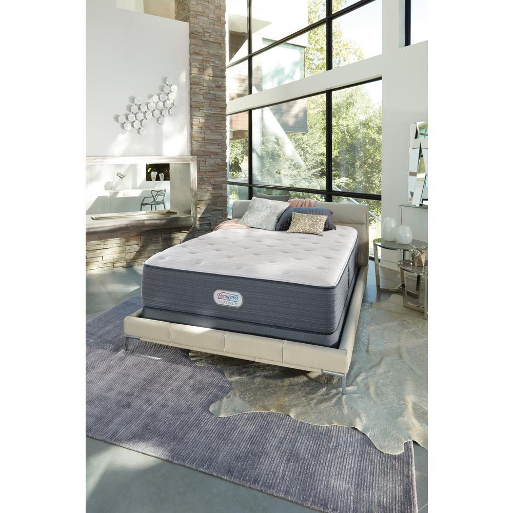 Platinum Spring Grove 15 in. King Plush Pillow Top Mattress Set