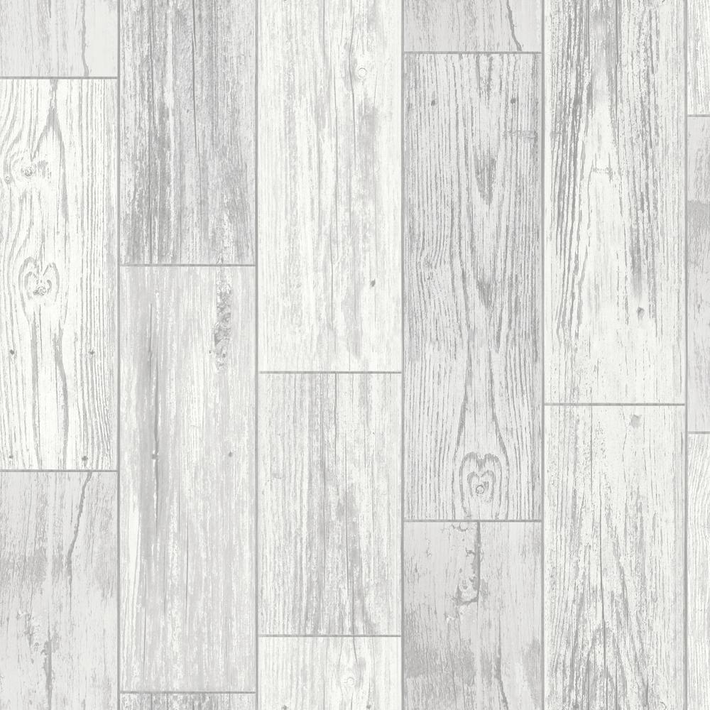 Salcombe Wood Grey Wallpaper