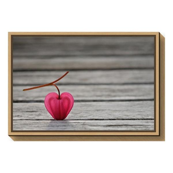 RED ONION WATER BUBBLES FRAMED CANVAS WALL ART PICTURE PRINT