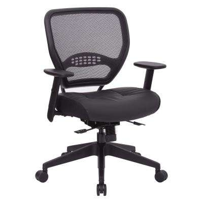 Air Grid Black Air Back Managers Chair