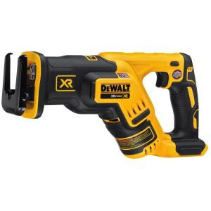 Click here to buy Dewalt 20-Volt MAX XR Lithium-Ion Cordless Brushless Compact Reciprocating Saw (Tool-Only) by DEWALT.