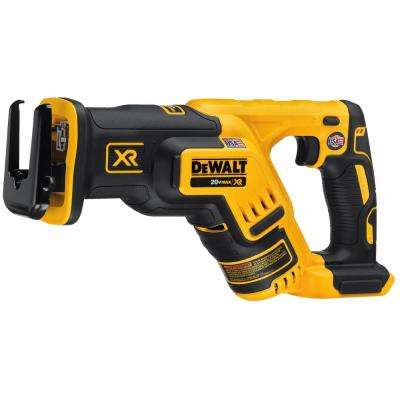 20-Volt MAX XR Lithium-Ion Cordless Brushless Compact Reciprocating Saw (Tool-Only)