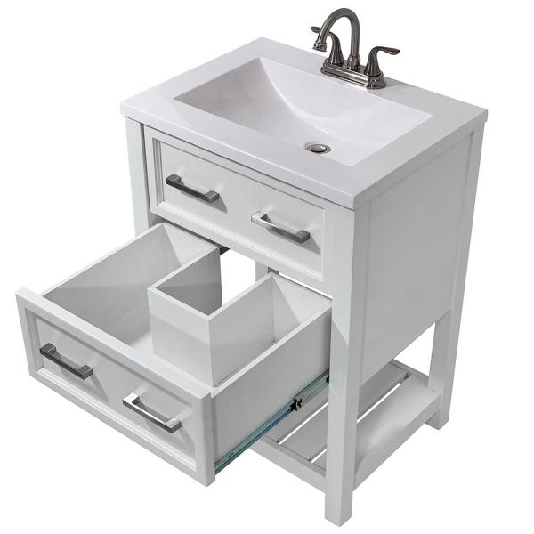 Bath Vanity Cabinet Only In White
