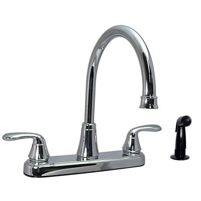 Phoenix PF213361 4in Diverter with D Spud Tub and Shower Faucet Plastic